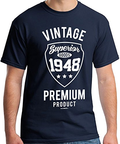 ca162897e 70th Birthday Gifts for Men Vintage Premium 1948 T-Shirt - Buy a ...