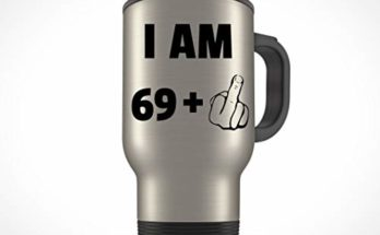 70th Birthday Gift For Women Men Travel Mug Party 70 Year Old Ideas Him Her Bday Present